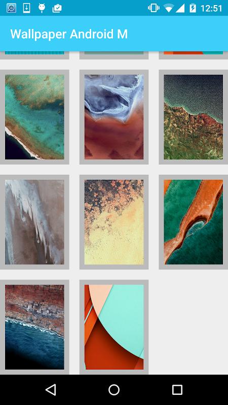 Screenshot Wallpaper Android M APK