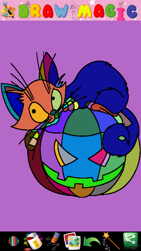Screenshot Coloring Pages for kids APK