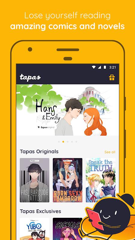 Tapas – Comics, Novels, and Stories The App Store