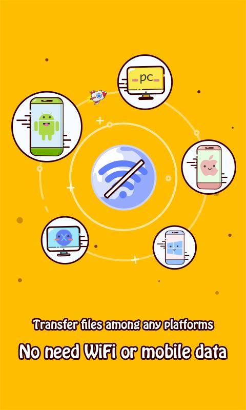 Screenshot Zapya (Connect,Share,Transfer) APK