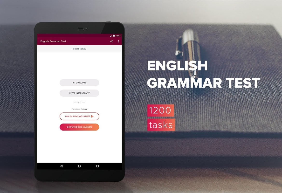Screenshot English Grammar Test APK