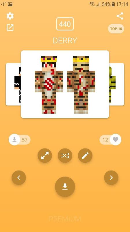 Screenshot Skins for Minecraft PE APK