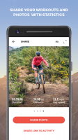 Sports Tracker Running Cycling Screen