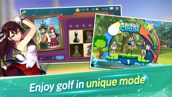 Birdie Crush: Fantasy Golf Screen