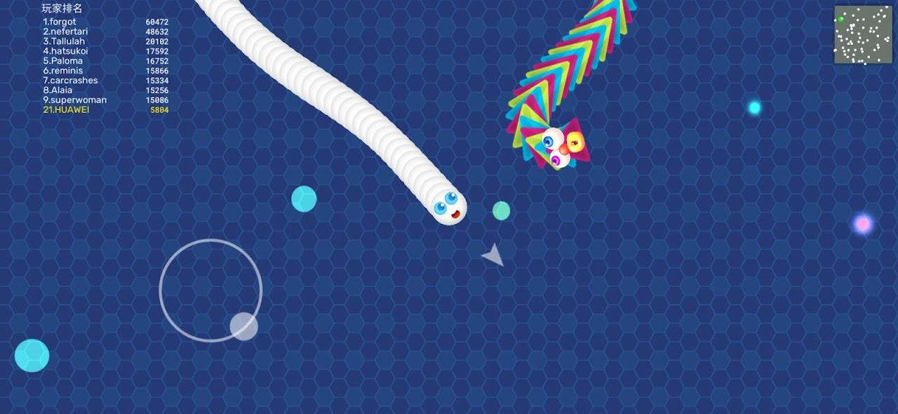 Snake Zone.io-Master Worm Battle War