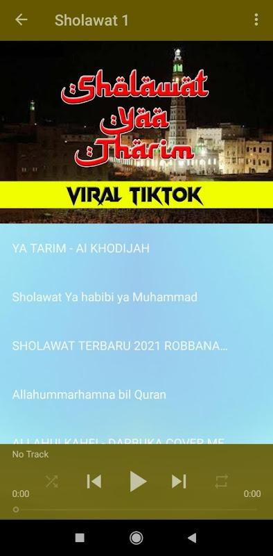 Sholawat Yaa Tarim