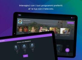 Mediaset Play Infinity TV Screen