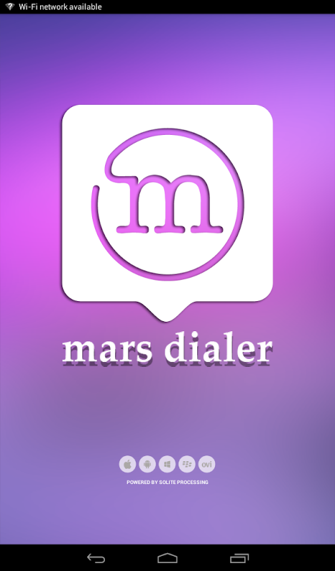 Mars Dialer