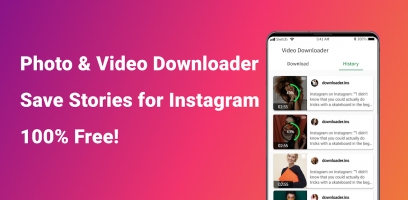 Story Saver for Instagram, Photo &Video Downloader Screen