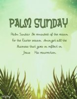 Palm Sunday Quotes & Wishes 2021 Screen