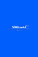 WMC 바인더 2.0 Screen