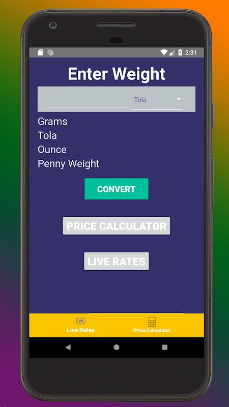 Gold Price & Conversion