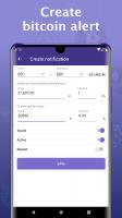 Bitcoin price - Cryptocurrency widget Screen