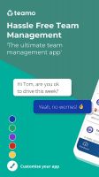 Teamo - Team Management Screen