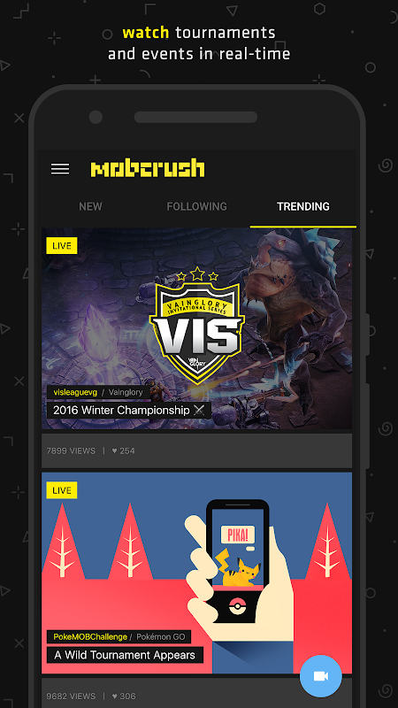Mobcrush: Livestream Games
