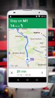 Navigation for Google Maps Go Screen