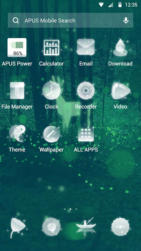 Magic-APUS Launcher theme