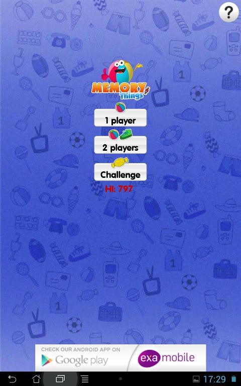 Memo Games Things