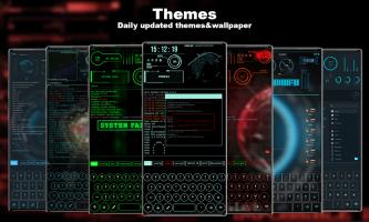 Hacker Theme - Aris Launcher Screen