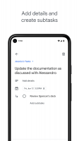 Google Tasks: Any Task, Any Goal. Get Things Done Screen