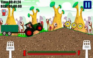Offroad Tractor Trolley Transport 2D Adventure 19 Screen