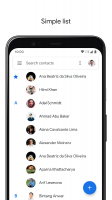 Contacts Screen