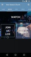 New Season Church Screen