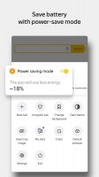 Yandex Browser with Protect Screen