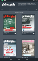 Philosophie magazine Screen
