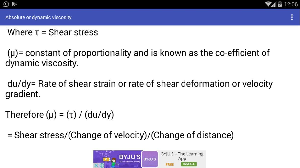 Physics Units