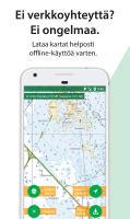 Karttaselain - Maastokartta Screen