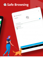 Mobile Security: Antivirus, Wi-Fi VPN & Anti-Theft Screen
