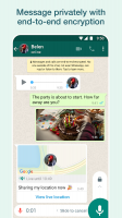 WhatsApp Messenger Screen