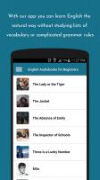 English Audiobooks Screen