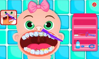 Emily Brushing Tooth Screen