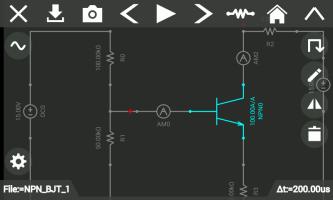 Circuit Solver Screen