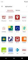 ServeisCAT - La Generalitat de Catalunya al mòbil Screen