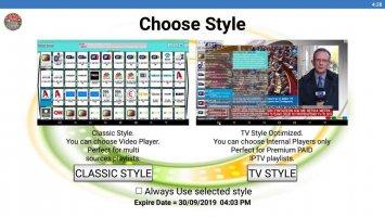 Ultimate IPTV Playlist Loader Screen