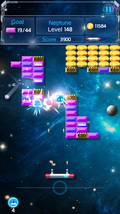 Brick Breaker : Space Outlaw