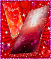Love You Live Wallpaper ❤️ Couple Hearts Themes Screen