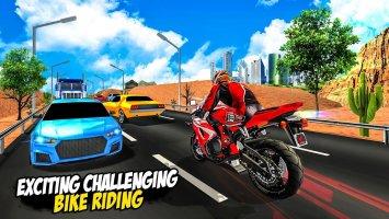 Highway Moto Bike Riding - Bike Racing Fever Screen