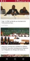 Togo actualité Screen