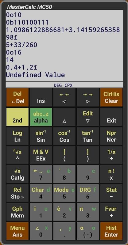 MC50 Programmable Calculator