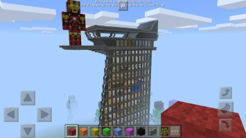 Buildings for Minecraft Screen