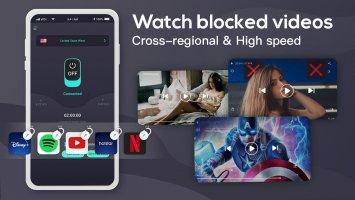 Free Touch VPN - Unlimited VPN & Fast Security VPN Screen