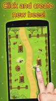 Angry Bee Evolution - Idle farm tap free clicker Screen