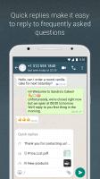 WhatsApp Business Screen