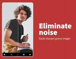 Adobe Photoshop Express:Photo Editor Collage Maker Screen
