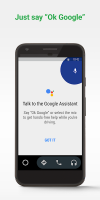 Android Auto - Google Maps, Media & Messaging Screen