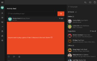 Xbox beta Screen